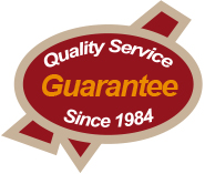 Quality Service Guarantee Since 1984