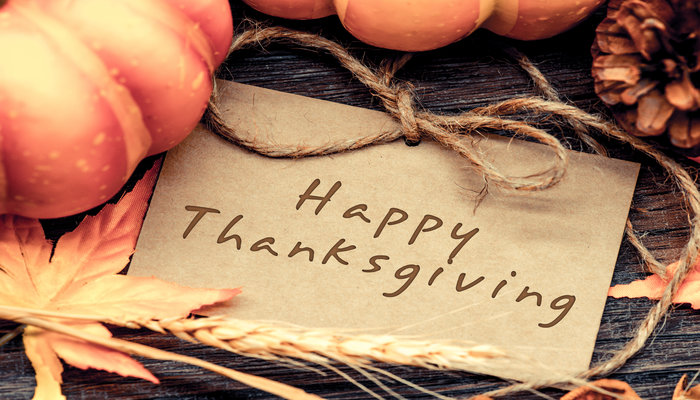 Happy Thanksgiving Weekend from Prudent Financial