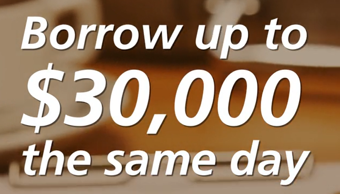Borrow Up to $30,000 the Same Day – Find Out How!